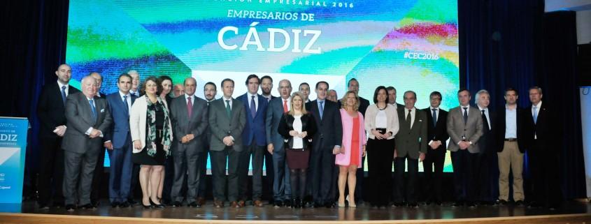 Segunda Convención de la COnfederación de Empresarios de Cádiz