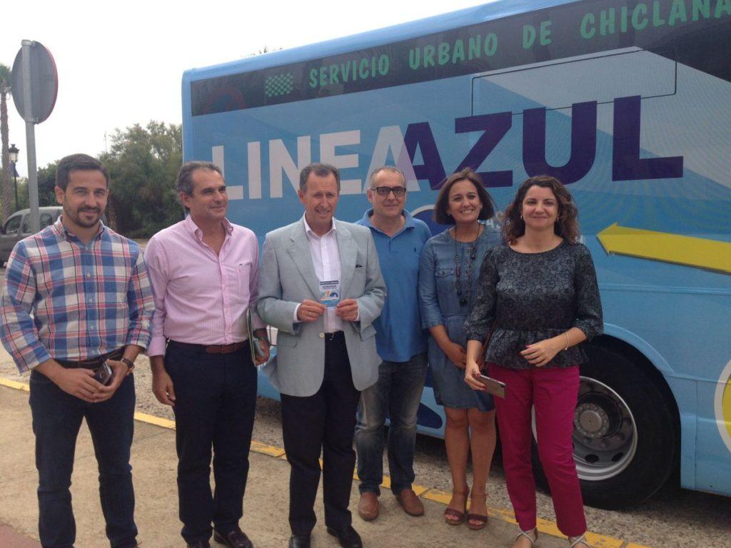 Nueva Línea Azul de Autobuses en Chiclana