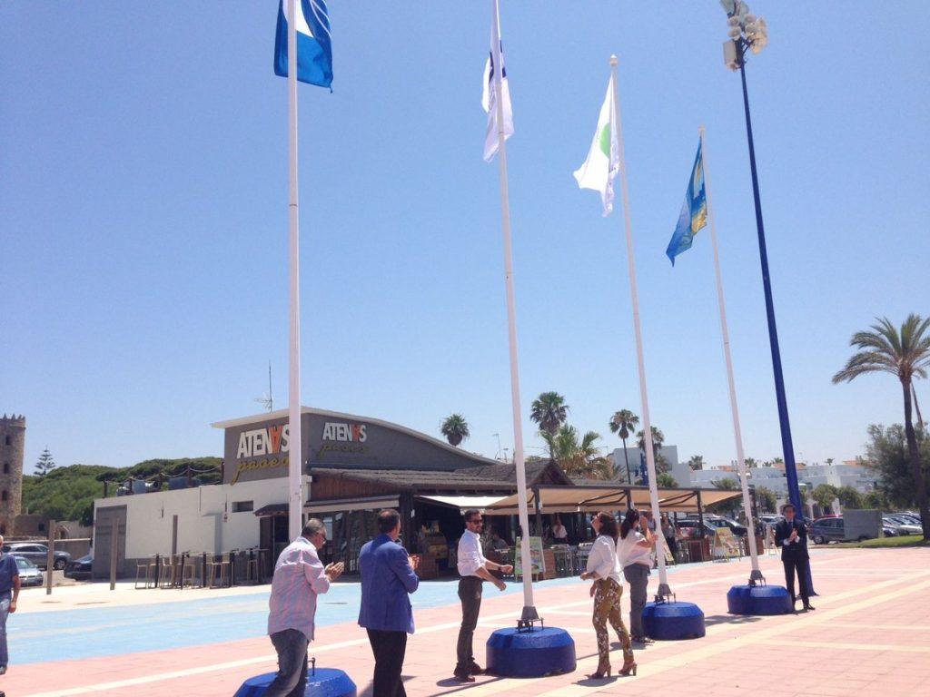 Banderas de Calidad de las Playas de Chiclana
